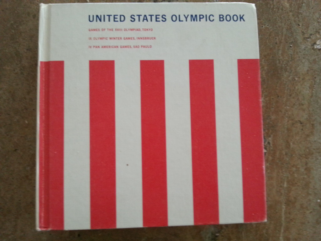 1964 olympic book